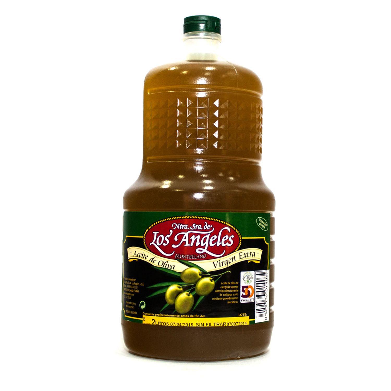 Aceite de Oliva Virgen Extra Los Angeles en Botella de Plástico 2L