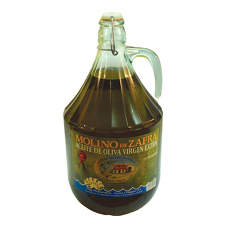 Aceite de Oliva Virgen Extra Zafra Botella de Cristal 5L